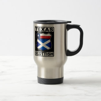Texas Scottish American Travel Mug