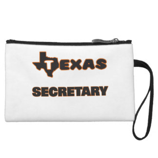 Texas Secretary Wristlet Purses