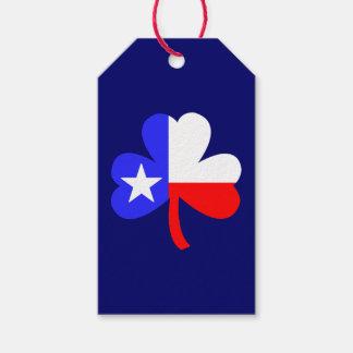Texas Shamrock Gift Tags