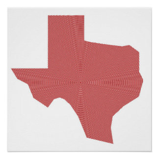 Texas Spiral Poster Perfect Poster