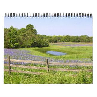 Texas Spring Calendars