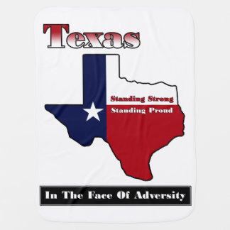 Texas Standing Strong Baby Blanket