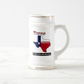 Texas Standing Strong Beer Stein