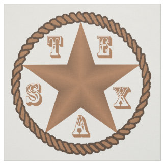 Texas Star With Rope Border Large  ANY COLOR Fabric
