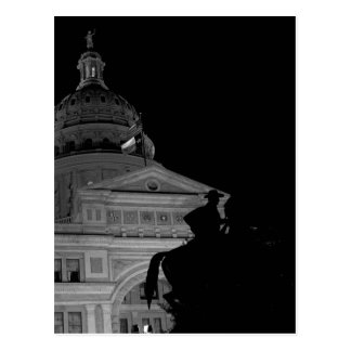 Texas State Capitol at Night Post Card