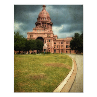 Texas State Capitol Building Photograph