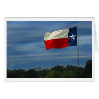Texas State Flag Card