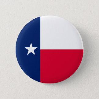 Texas State Flag Design 2 Inch Round Button