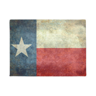 Texas State Flag Doormat