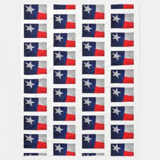 Texas State Flag Fleece Blanket