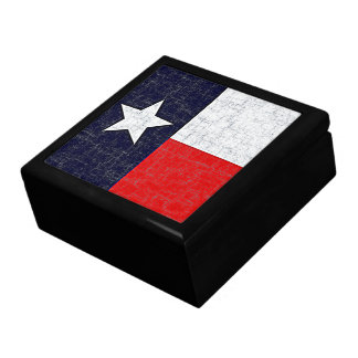 TEXAS STATE FLAG Keepsake Box