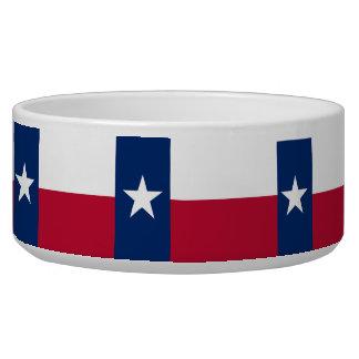 Texas State Flag Pet Bowl