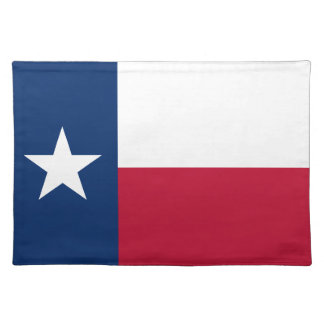 Texas State Flag Placemat