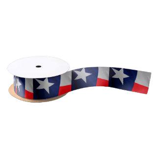 Texas State Flag Ribbon Satin Ribbon