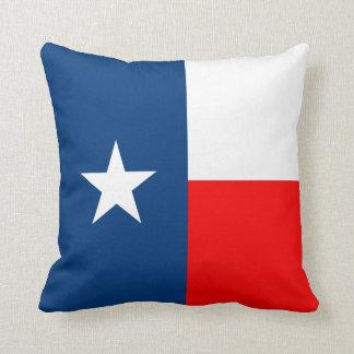 Texas State Flag Throw Pillow