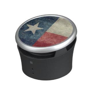 Texas state flag vintage retro Bumpster Speakers Bluetooth Speaker