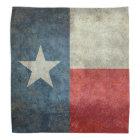 Texas state flag vintage retro style Bandana