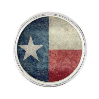 Texas state flag vintage retro style Lapel Pin