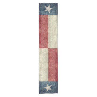 Texas state flag vintage retro Table runners