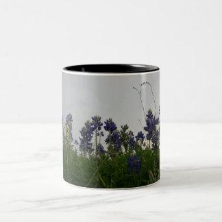 Texas State Flower Two-Tone Coffee Mug