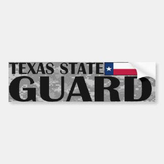 Texas State Guard Bumper Sticker