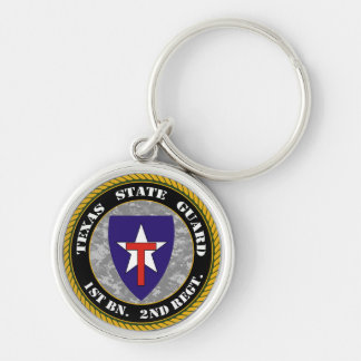 Texas State Guard Key Chain