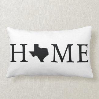 Texas State HOME Lumbar Throw Pillow