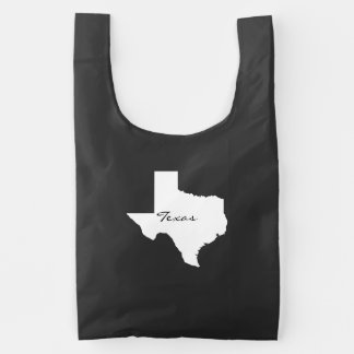 Texas State Map Silhouette