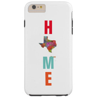 TEXAS STATE MAP - TOUGH iPhone 6 PLUS CASE