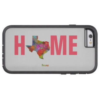 TEXAS STATE MAP - TOUGH XTREME iPhone 6 CASE