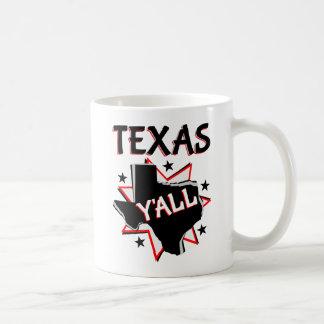 Texas State Pride Y'all Coffee Mug