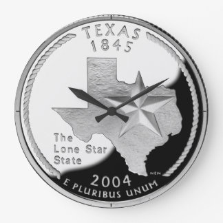 Texas State Quarter Clock
