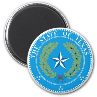 Texas State Seal Magnet