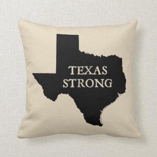 Texas Strong Farmhouse Style Throw Pillow