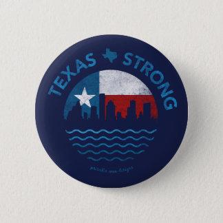 Texas Strong Hurricane Harvey Button