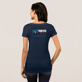 Texas Strong Hurricane Harvey Scoop T-shirt