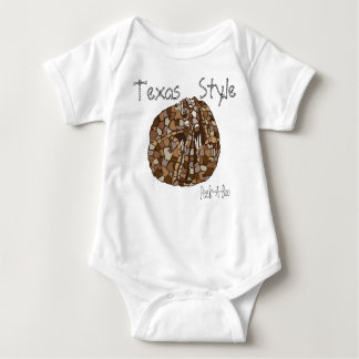 Texas Style Peek-A-Boo infant Shirt