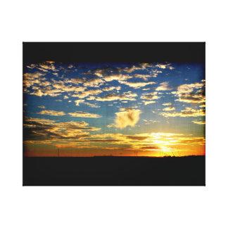 Texas Sunset 1 Canvas Print