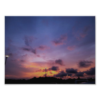 Texas Sunset Fine Art Photo Print