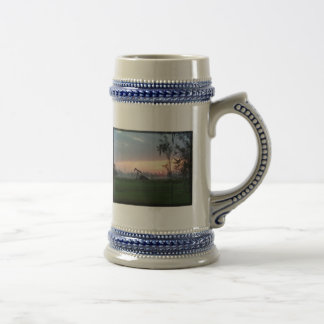 Texas Sunset Stein