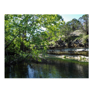 Texas Swimming Hole Postcard