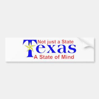 Texas T-shirt and mugs Bumper Sticker
