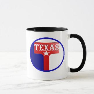 Texas t-shirt mug