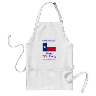 Texas TEA Party - We're Taxed Enough Already! Apron