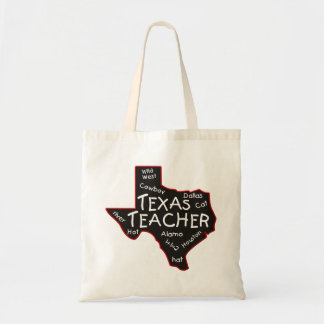 Texas Teacher Tote Bag