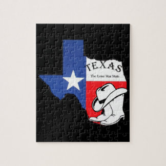 Texas, The Lone Star State Jigsaw Puzzle