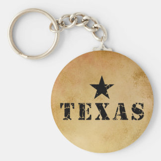 Texas, the Lone Star State Keychain