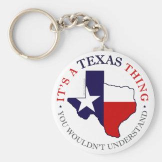 Texas Thing Keychain