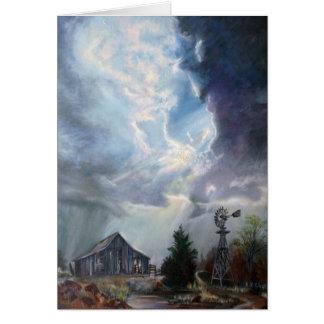 Texas Thunderstorm Greeting Card