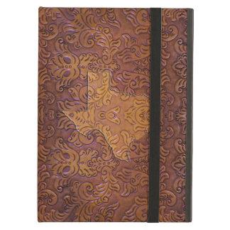 Texas Tooled Leather Design iPad Case